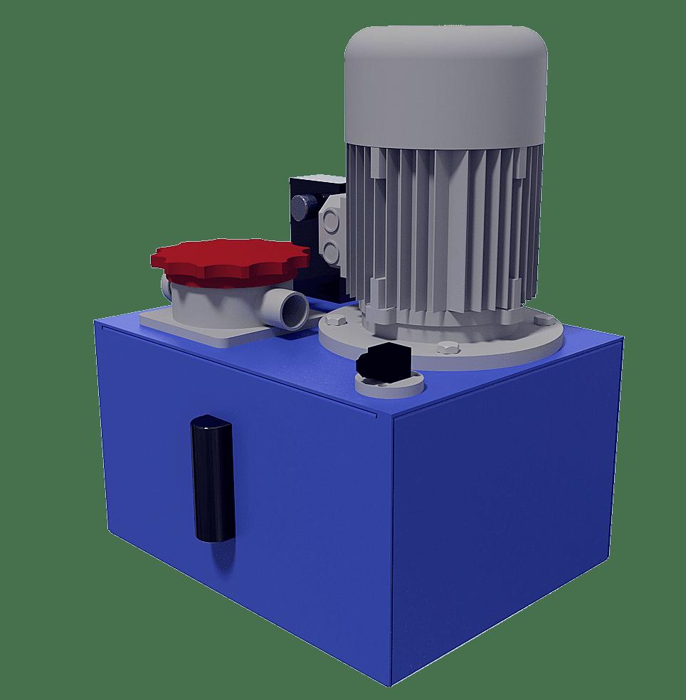 HPU-Pumpestation